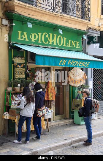 Shop Aix En Provence France Stock Photos & Shop Aix En Provence ...