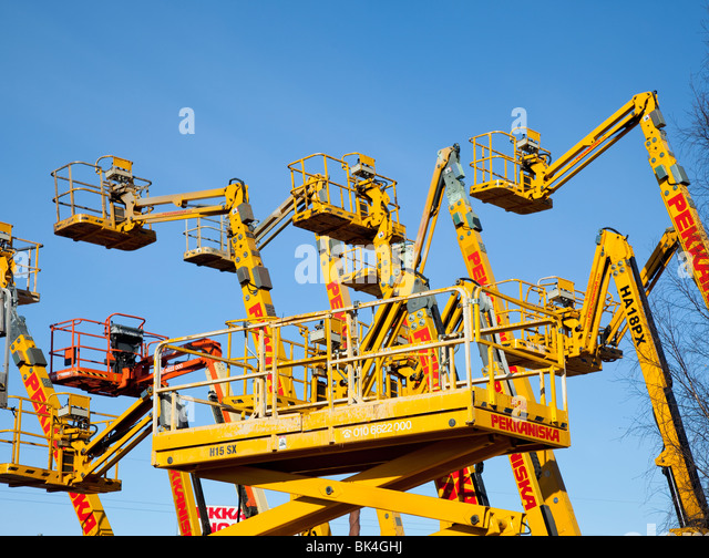 Scissor Lift Stock Photos Scissor Lift Stock Images Alamy