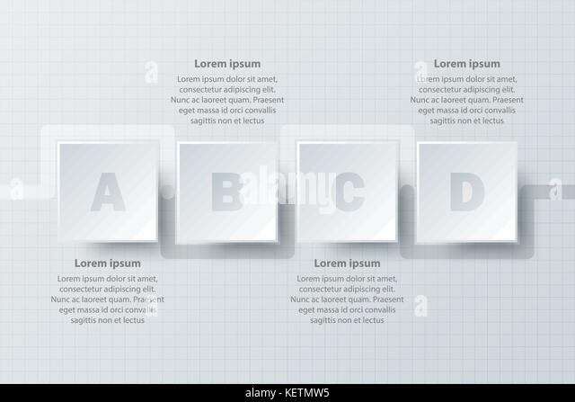 timeline infographic icon simple style stock photos timeline four topics simple white paper 3d square on timeline for website presentation cover poster vector design