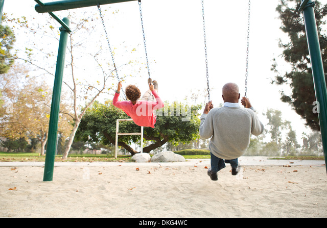 Couple greece swinging