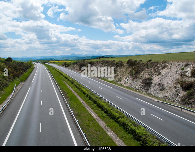 A75 road stock photos a75 road stock images alamy - Autoroute clermont ferrand ...