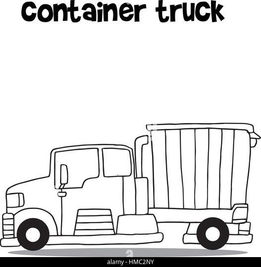 cartoon cargo truck stock photos  u0026 cartoon cargo truck
