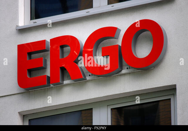 Insurance logo stock photos insurance logo stock images for Ergo berlin