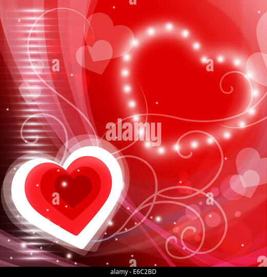 heart background meaning valentine day and glare stock image