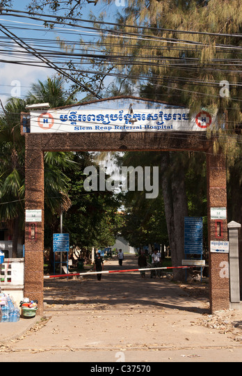 writing about siem reap province hospital