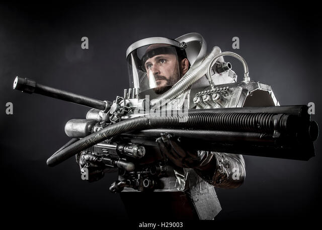 astronaut with weapon - photo #25