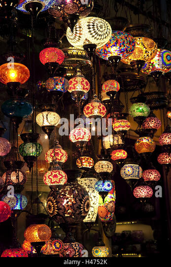 oriental lighting. Glass Lamps, Brightly, Hang, Bazaar, Market Stall, Sell, Oriental, Oriental Lighting