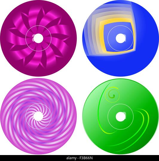 Abstract Design Template Dvd Label Stock Photos & Abstract Design