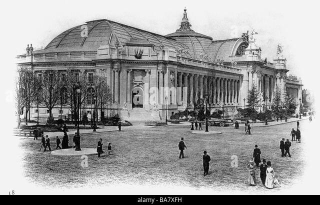 Exposition universelle 1900 stock photos exposition universelle 1900 stock images alamy - Exposition grand palais paris ...