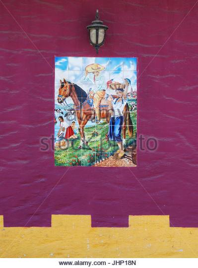 Tiled mural stock photos tiled mural stock images alamy for El mural jalisco
