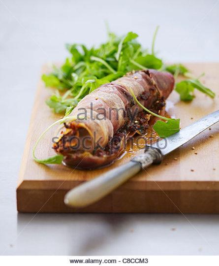 Parma ham stock photos parma ham stock images alamy for Monkfish and parma ham recipe