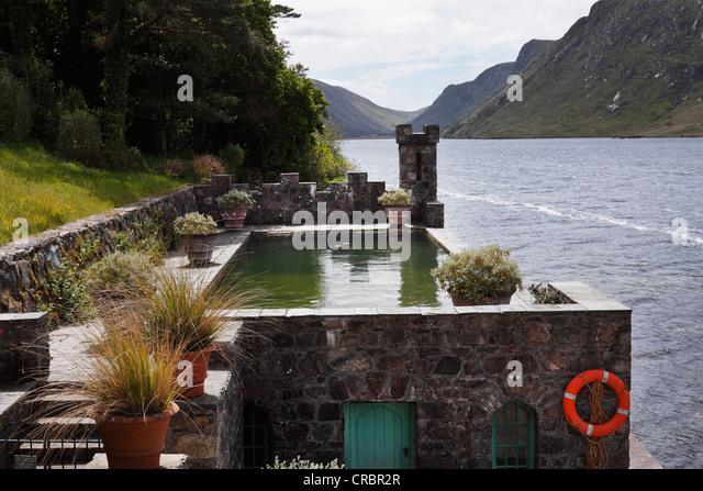 Glenveagh castle stock photos glenveagh castle stock for Castle gardens pool