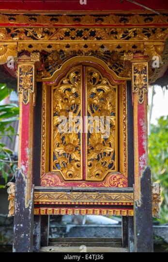 Bali Indonesia. Doors to a Shrine to an Ancestor inside a Hindu Balinese Village & Balinese Doors Stock Photos \u0026 Balinese Doors Stock Images - Alamy Pezcame.Com