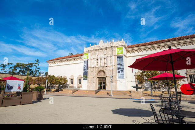 Balboa Park Art Museum Cafe