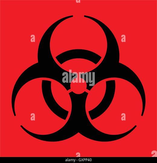 red biohazard sign wwwpixsharkcom images galleries