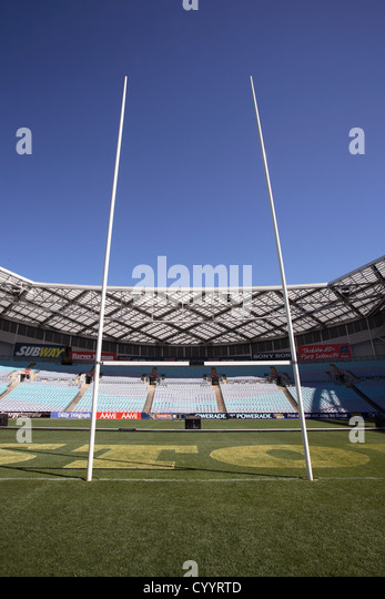 Rugby Goals At Stadium Australia Sydney Olympic Park Homebush Bay