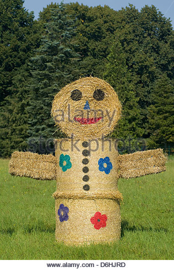 hay bale fall decoration stock photos hay bale fall decoration stock images alamy. Black Bedroom Furniture Sets. Home Design Ideas