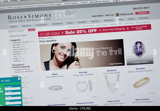 Ross store stock photos ross store stock images alamy for Ross simons jewelry store