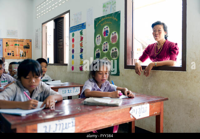 classroom in laos Using l1 in teaching vocabulary to low english proficiency level students: a case study at the national university of laos  exercises in the classroom this would .