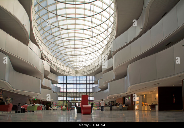 Large skylight hall stock photos large skylight hall for Large skylights