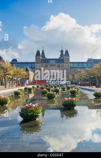 Amsterdam Stock Photos Images Alamy Rijksmuseum Statue Image