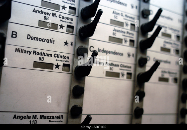 mechanical voting machine