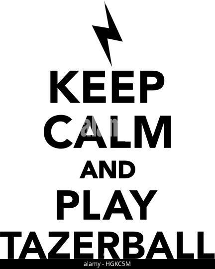 Tazerball stock photos tazerball stock images alamy for Keep calm font