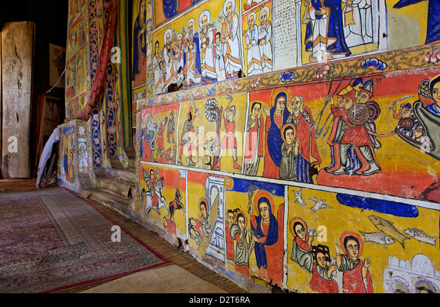Church churches interior stock photos church churches for Christian mural
