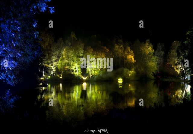 Enchanted Forest lighting display Perthshire Scotland - Stock Image & Enchanted Forest Lighting Display Stock Photos u0026 Enchanted Forest ... azcodes.com