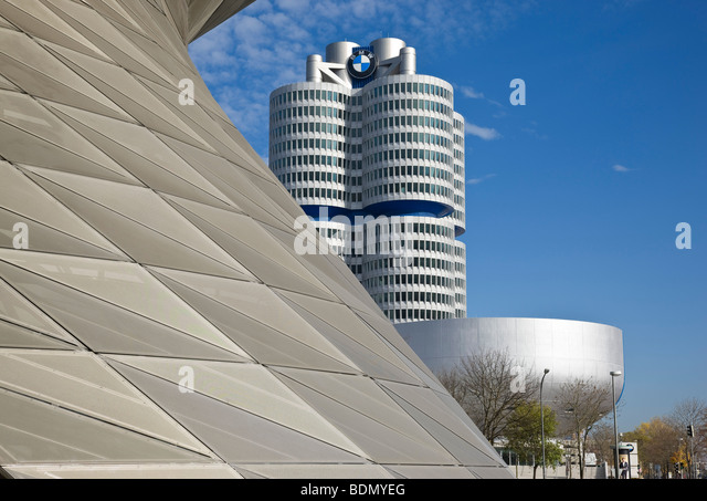 bmw hochhaus stock photos bmw hochhaus stock images alamy. Black Bedroom Furniture Sets. Home Design Ideas