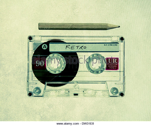 how to fix cassette tape pencil