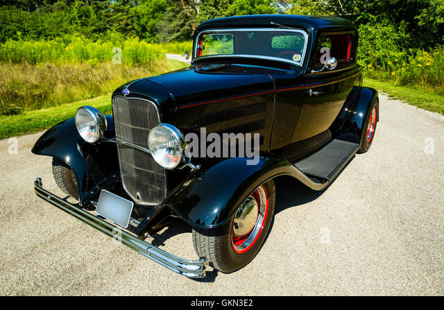 32 ford stock photos 32 ford stock images alamy for 1932 ford 3 window coupe hot rod