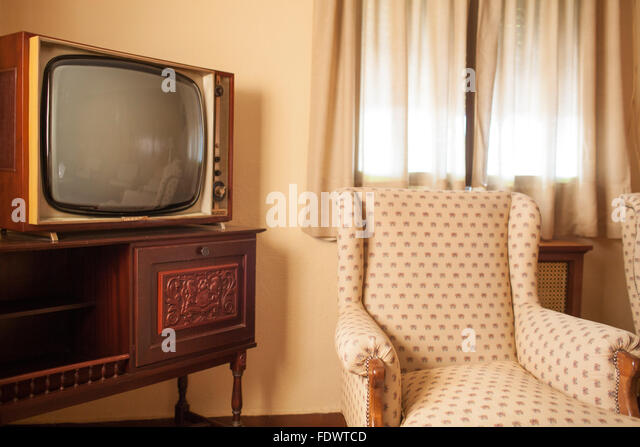 Guadalajara, Spain, Old Fashioned Furniture In A Hotel Room   Stock Image