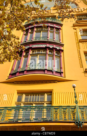 Grand hotel europa prague stock photos grand hotel for Hotel europa prague