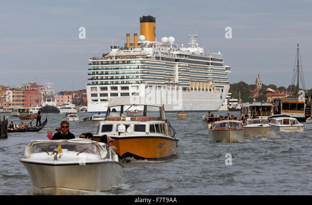 Heavy Boat Traffic Cruise Ship Stock Photos Heavy Boat Traffic - How heavy is a cruise ship