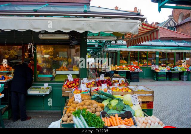 Polish food market stock photos polish food market stock for Outdoor food market