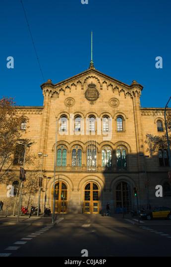 Placa de la universitat stock photos placa de la - Placa universitat barcelona ...