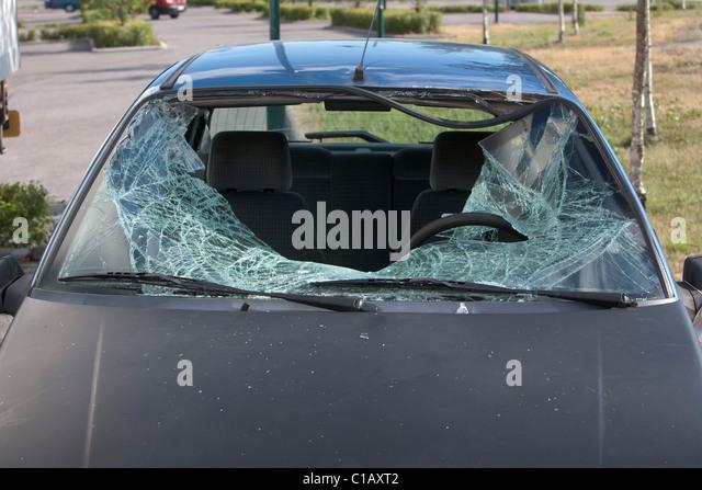 Broken Car Window Stock Photos Amp Broken Car Window Stock