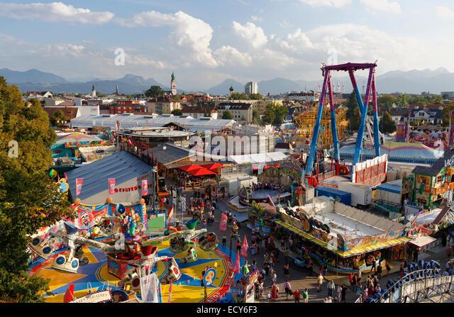 Rosenheim Germany  city images : Rosenheim autumn festival, Rosenheim, Upper Bavaria, Bavaria, Germany ...