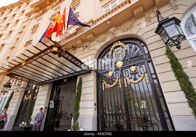 Hotel Ritz Madrid Stock Photos Hotel Ritz Madrid Stock