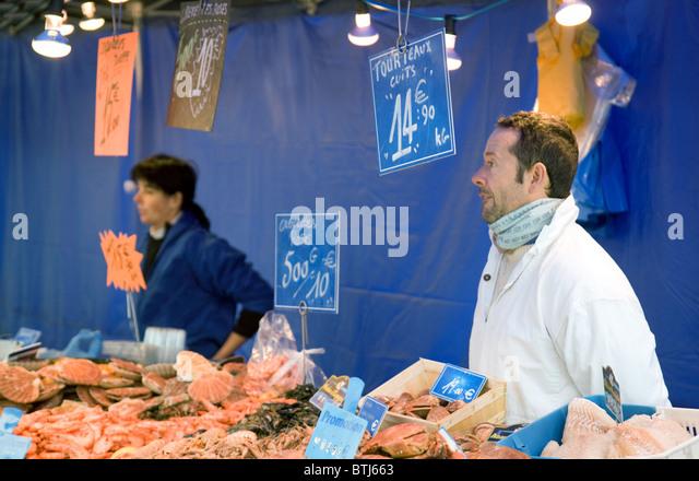 Paris fish market stock photos paris fish market stock for Nearest fresh fish market