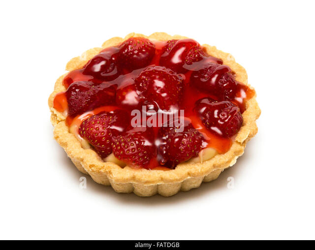 Tarts cutout stock photos tarts cutout stock images alamy for Easy jam tarts ready made pastry