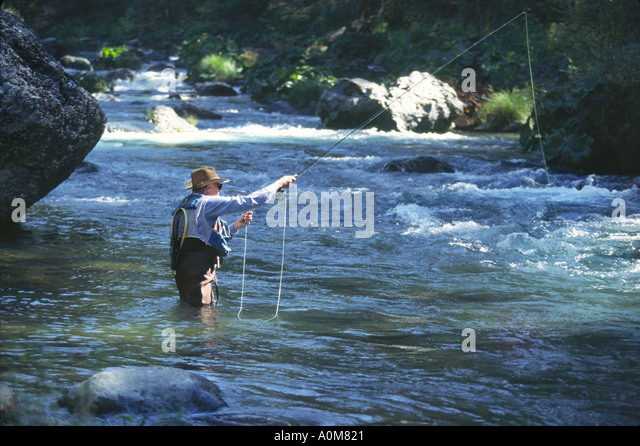 Mccloud stock photos mccloud stock images alamy for Trout fishing northern california