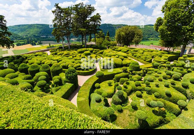 Vezac stock photos vezac stock images alamy - Les jardins de marqueyssac ...