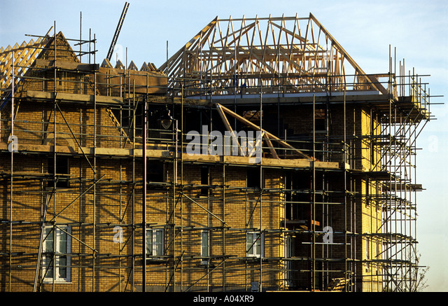 Housing construction uk stock photos housing for Affordable construction