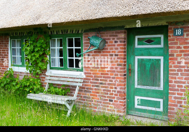 Thatched house denmark stock photos thatched house denmark stock images alamy - The jutland small house ...
