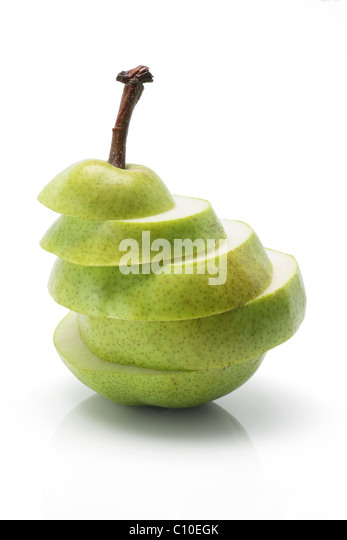 how to cut pears decoratively
