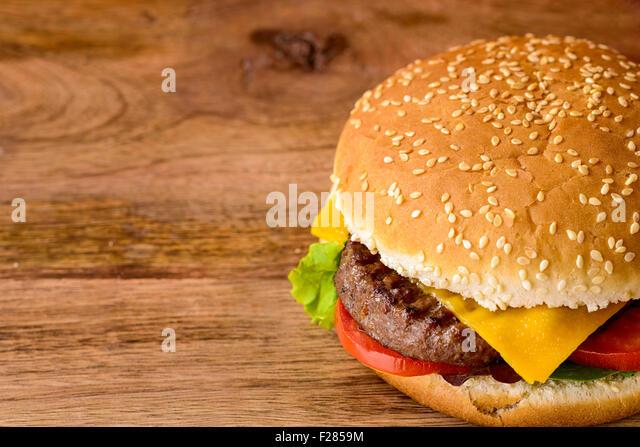 Gourmet Cheeseburger Stock Photos & Gourmet Cheeseburger ...