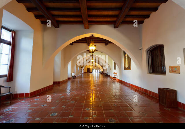 Courthouse interior america stock photos courthouse for Mural room santa barbara courthouse