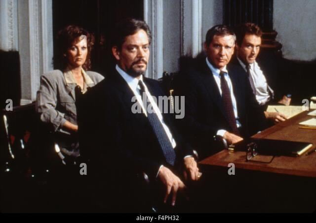 Bonnie Bedelia, Raul Julia And Harrison Ford / Presumed Innocent / 1990  Directed By Alan